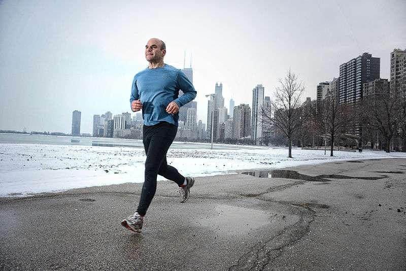 Pour progresser à la course à pied, il n'y a pas de secret : il faut s'entraîner, mais pas n'importe comment. Et les mathématiques peuvent faire office de coach. © Kyle Cassidy, Wikipédia, cc by sa 3.0
