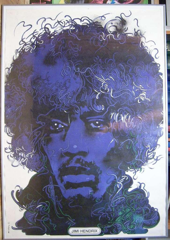 Le très célèbre guitariste Jimi Hendrix figure dans le club des 27. © Basspunk, Flickr, cc by nc sa 2.0