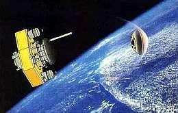 DASH en configuration de rentrée atmosphérique. Document Nasda.