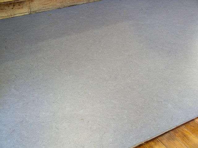 Le lino est un très bon isolant pour le sol. © blahedo, Wikimedia Commons, CC-BY-SA-2.5