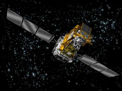 Le satellite Integral. Crédit : Esa