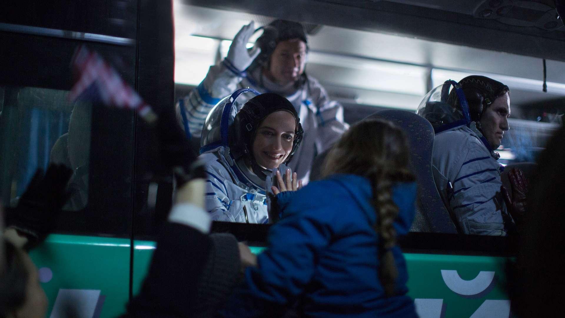 Eva Green dans le rôle d'une astronaute française qui s'apprête à quitter la Terre pour une mission d'un an dans l'espace. © Droits réservés