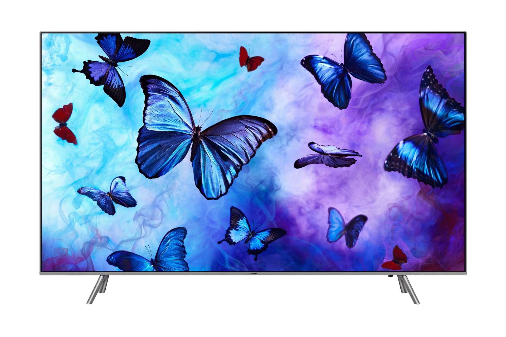 Vous êtes à la recherche d'un bon téléviseur ? La Samsung TV QLED 4K 55Q6FN dispose de toutes les fonctionnalités dernière génération. ©