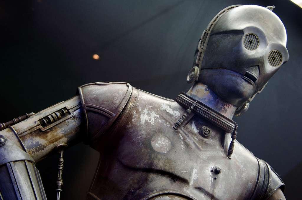 """Un C-3PO rouillé, le droïde est un personnage de la saga """"La Guerre des étoiles"""". © Creative Commons - Roger Bits"""
