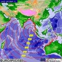 Tsunami : coopération internationale pour prévenir les risques via l'espace