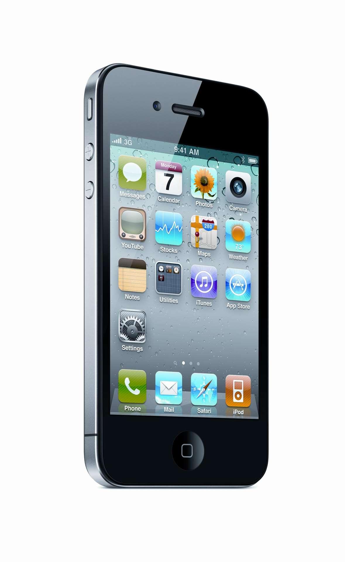 Le système d'exploitation de l'iPhone 4 est multitâche et l'appareil permet d'acheter des livres électroniques dans la boutique en ligne de Apple. © Apple