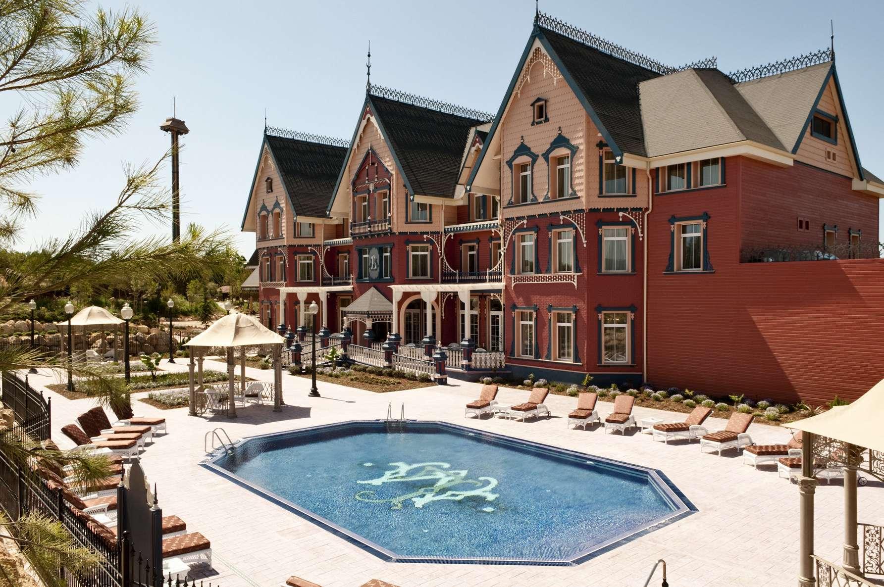 À PortAventura World, le célèbre parc d'attraction espagnol, il sera désormais possible de régler la note en bitcoin. © Courtesy of PortAventura Hotel Mansión de Lucy