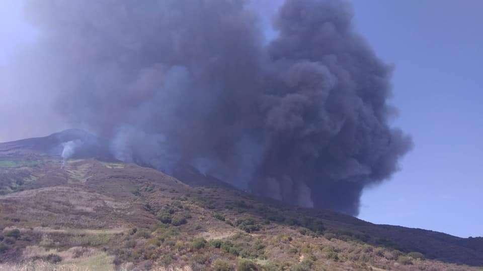 Le Stromboli de nouveau secoué par une violente éruption