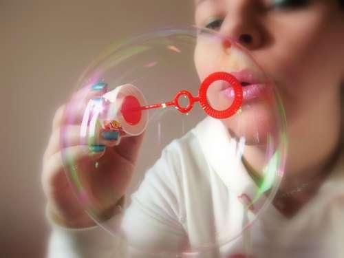 Une bulle... / Crédits : Porcelaingirl