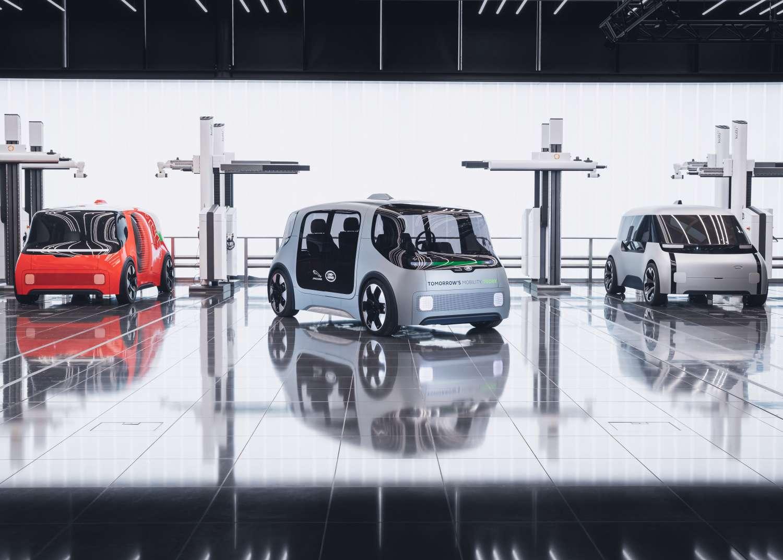 La navette autonome Vector pourra transporter aussi bien des passagers que des marchandises. © Jaguar Land Rover