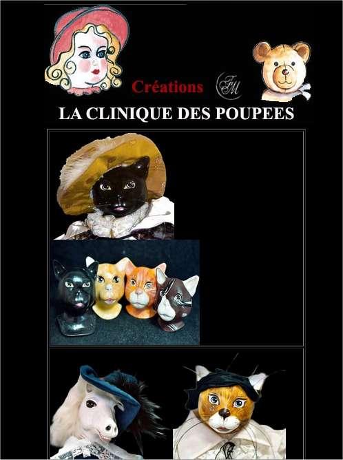 La clinique des poupées, à Bordeaux (quartier des Chartrons), sera ouverte ce week-end. © La clinique des poupées