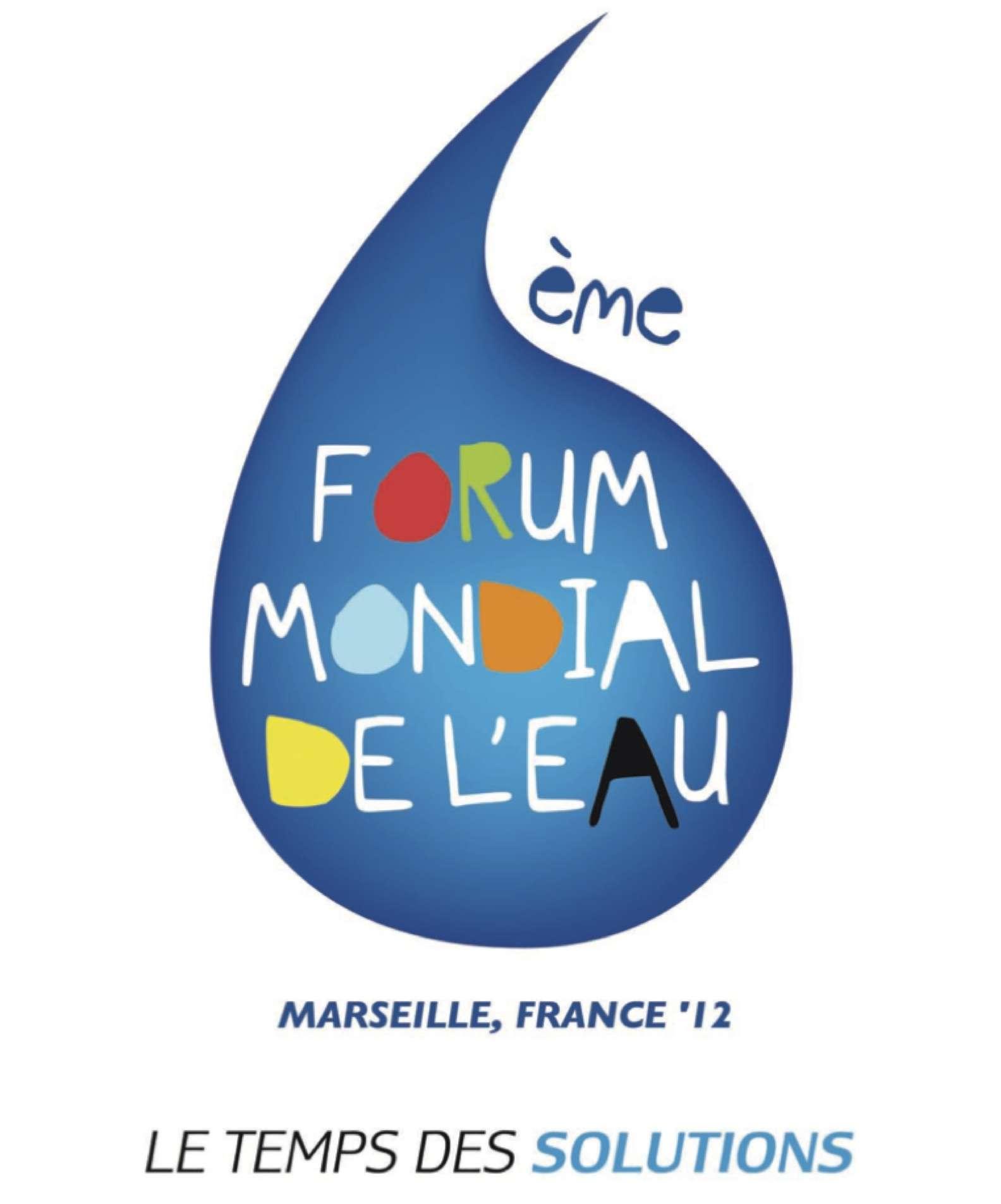 Le 6e Forum mondial de l'eau se tient à Marseille du 12 au 17 mars 2012. © DR