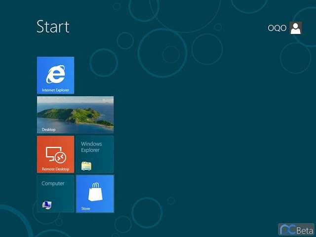 En plus du bureau classique redessiné et dénué de bouton Démarrer, Windows 8 sera doté d'une autre interface baptisée Metro et plus adaptée aux tablettes et smartphones. © Capture d'écran Windowsblogitalia