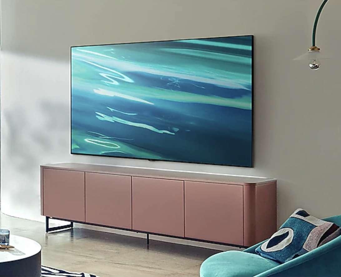 La TV QLED 50Q80A 2021 de Samsung profite d'une remise de 200 euros ! © Samsung