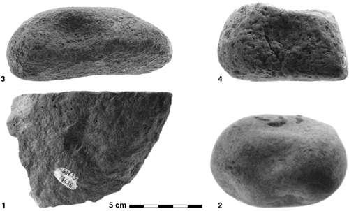 Silex taillés retrouvés à Gesher Benot Ya'aqov, un site très riche montrant une occupation humaine très longue. Crédit : N. Goren-Inbar et al. / Pnas