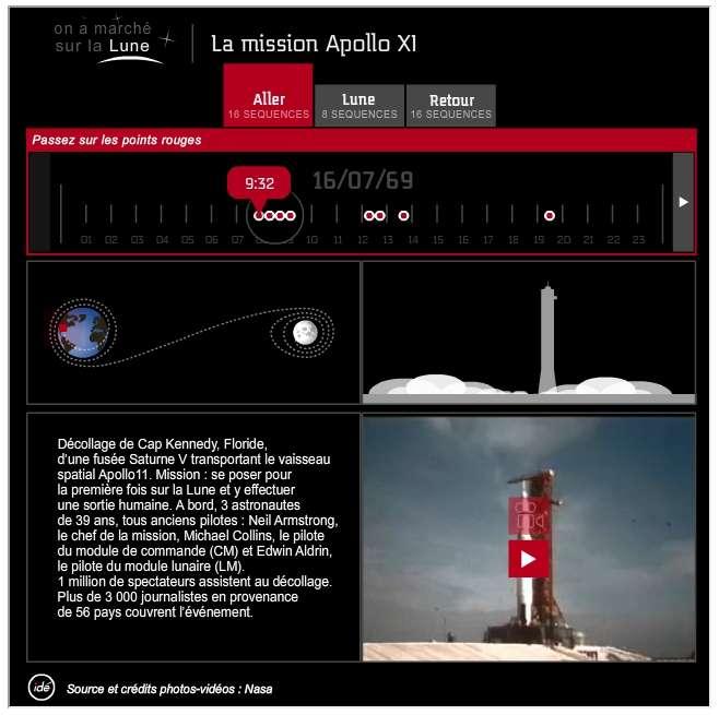 Apollo 11 comme si vous y étiez ! © Nasa