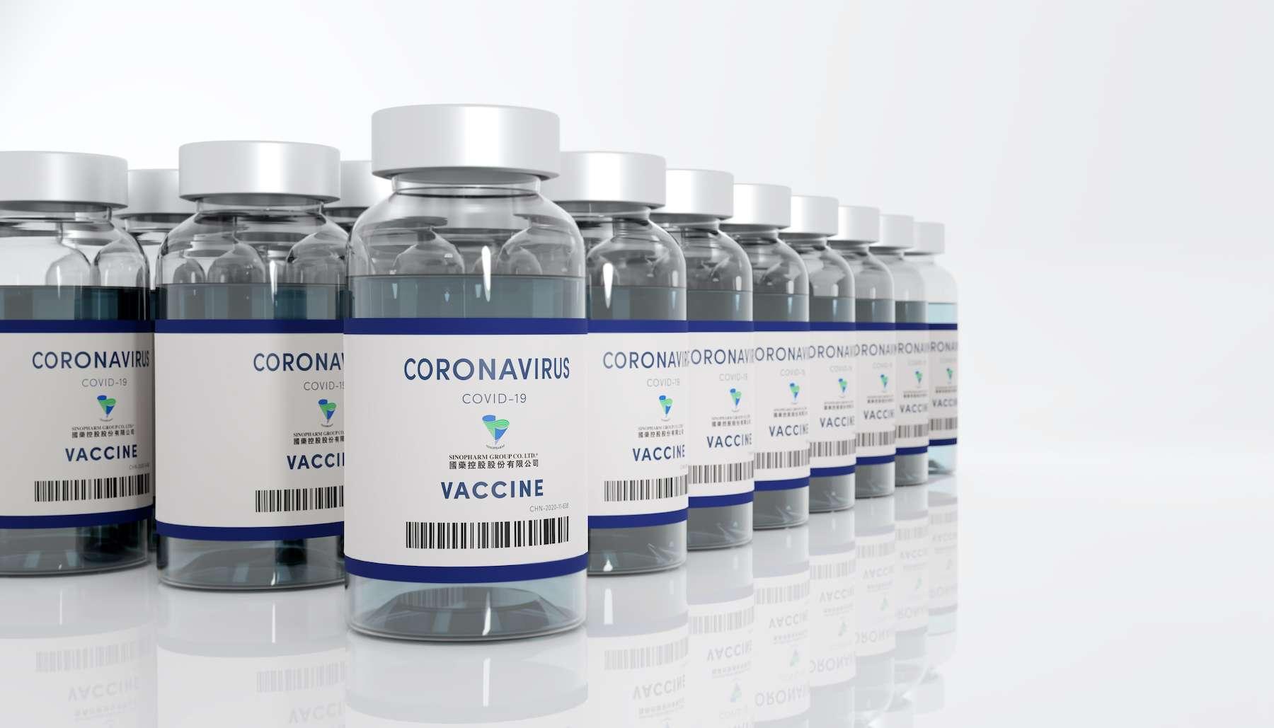 Les vaccins de Sinopharm, encore en phase d'essai clinique, ont déjà été administrés à un million de Chinois. © PhotoGranary, Adobe Stock