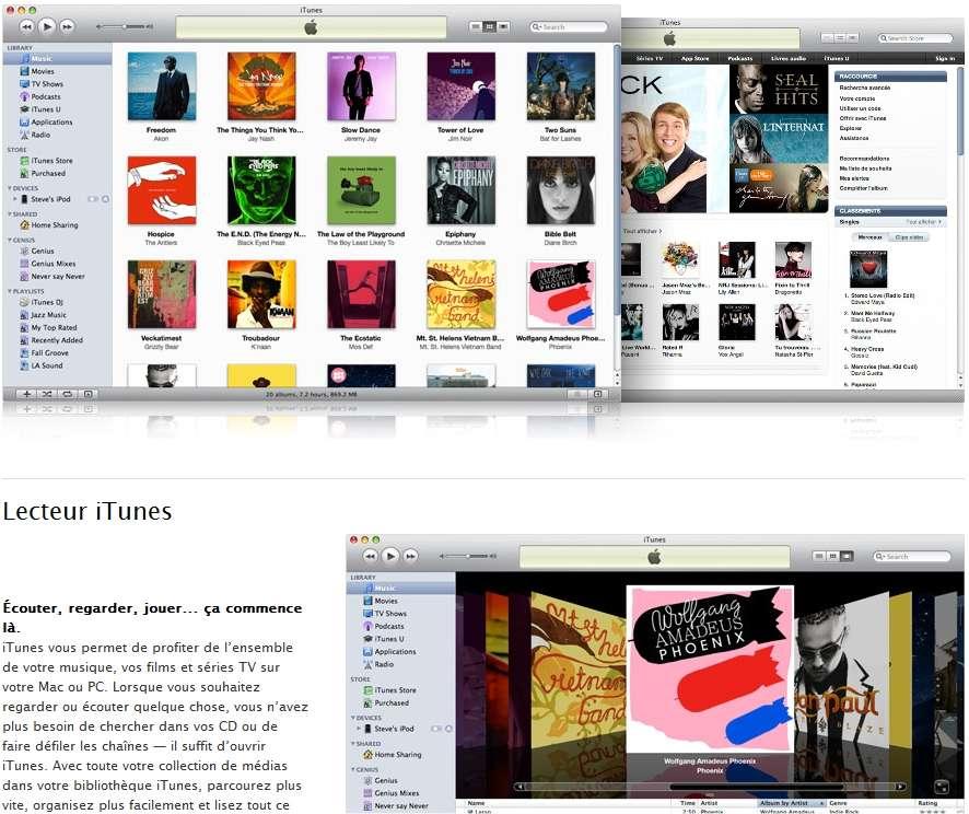 Un certain nombre de comptes iTunes (personne ne sait combien) ont manifestement été piratés. De quoi inciter à changer de mot de passe et à retirer les informations sur les données bancaires enregistrées sur le compte. © Apple