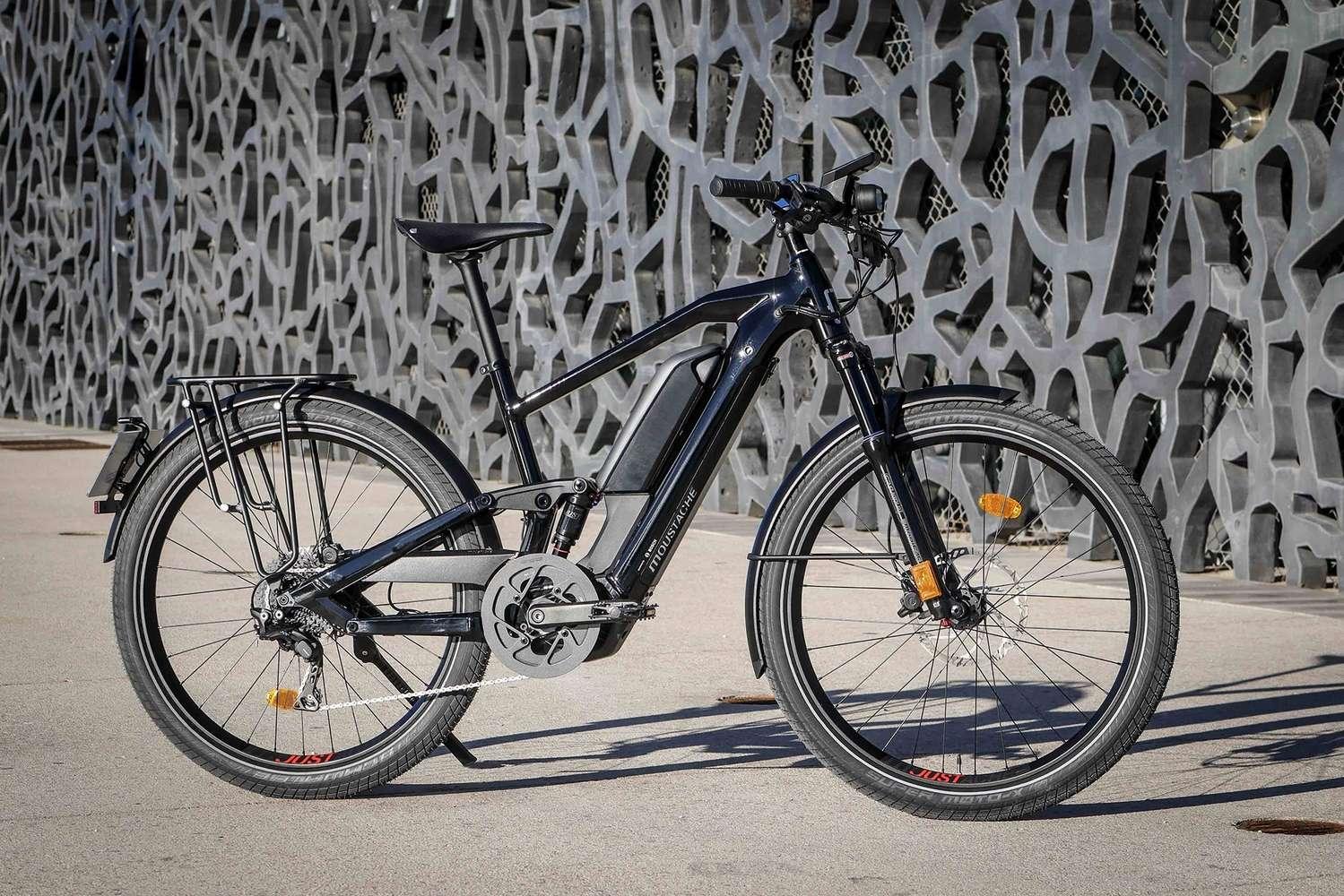 Le Moustache Friday 27 FS Speed Dual emporte deux batterie 625 et 500 Wh. © Moustache Bikes