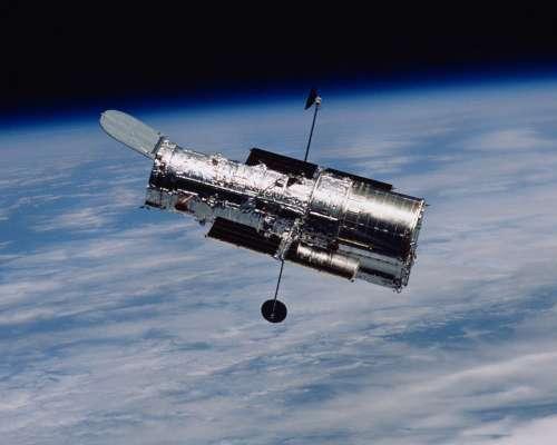 Le télescope Hubble en orbite. Crédit : Nasa-Esa