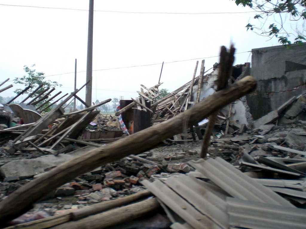 Le séisme du 12 mai 2008 avait fait plus de 368.000 blessés dans la province chinoise du Sichuan. Selon certains témoignages, la Terre a tremblé durant deux à trois minutes. © Remko Tanis, Flickr, cc by nc sa 2.0