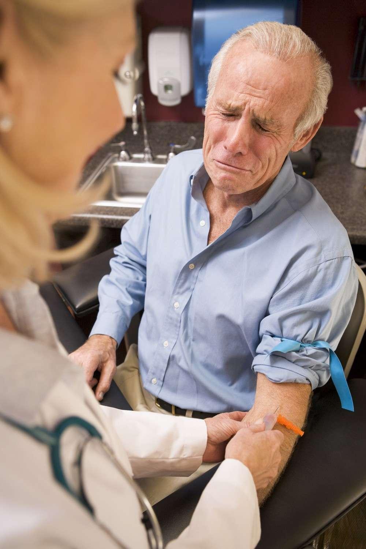 Les hôpitaux, les prises de sang et les films gores provoquent la terreur chez les hématophobiques. © Phovoir