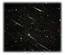 Une pluie d'étoile filante : les PerséidesCrédit : http://www.eurospacecenter.be