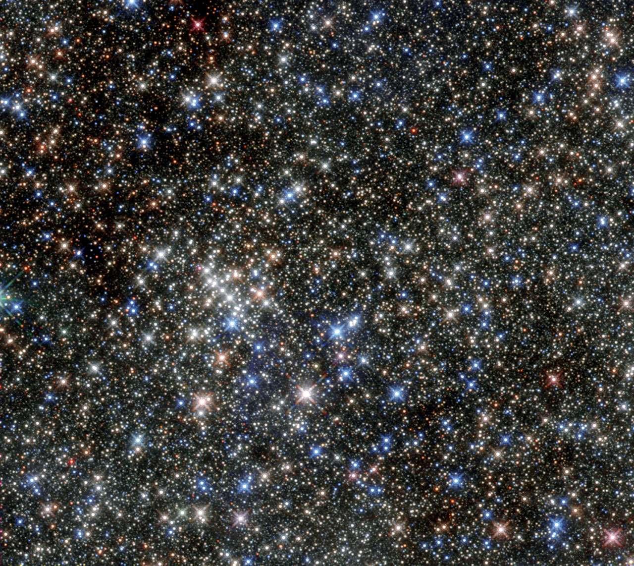 Des astronomes ont mesuré la quantité de photons émise par toutes les étoiles de l'univers depuis son commencement. © ESA/Nasa