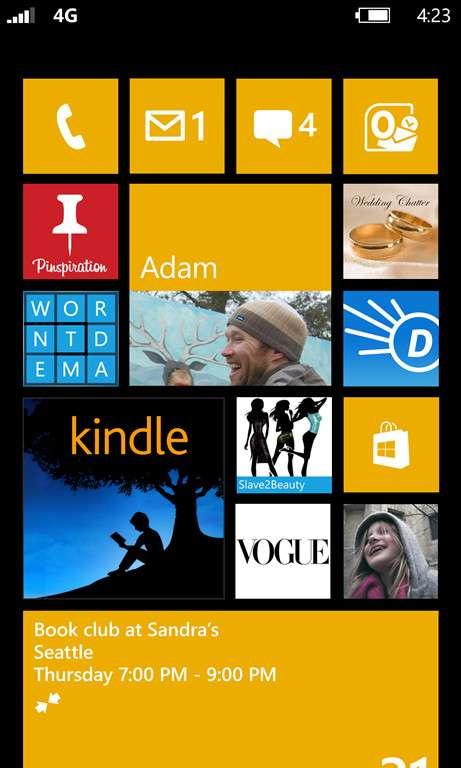 Les utilisateurs de Windows Phone 7.5 risquent d'être déçus, puisqu'ils ne pourront pas faire évoluer le système vers Windows Phone 8. Ils pourront toutefois se consoler avec une mise à jour (7.8) qui apportera, entre autres, le nouvel écran d'accueil de Windows Phone 8. © Microsoft