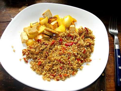 Le quinoa est un aliment très nourrissant. © dana hilliot, Flickr CC by nc-sa 2.0