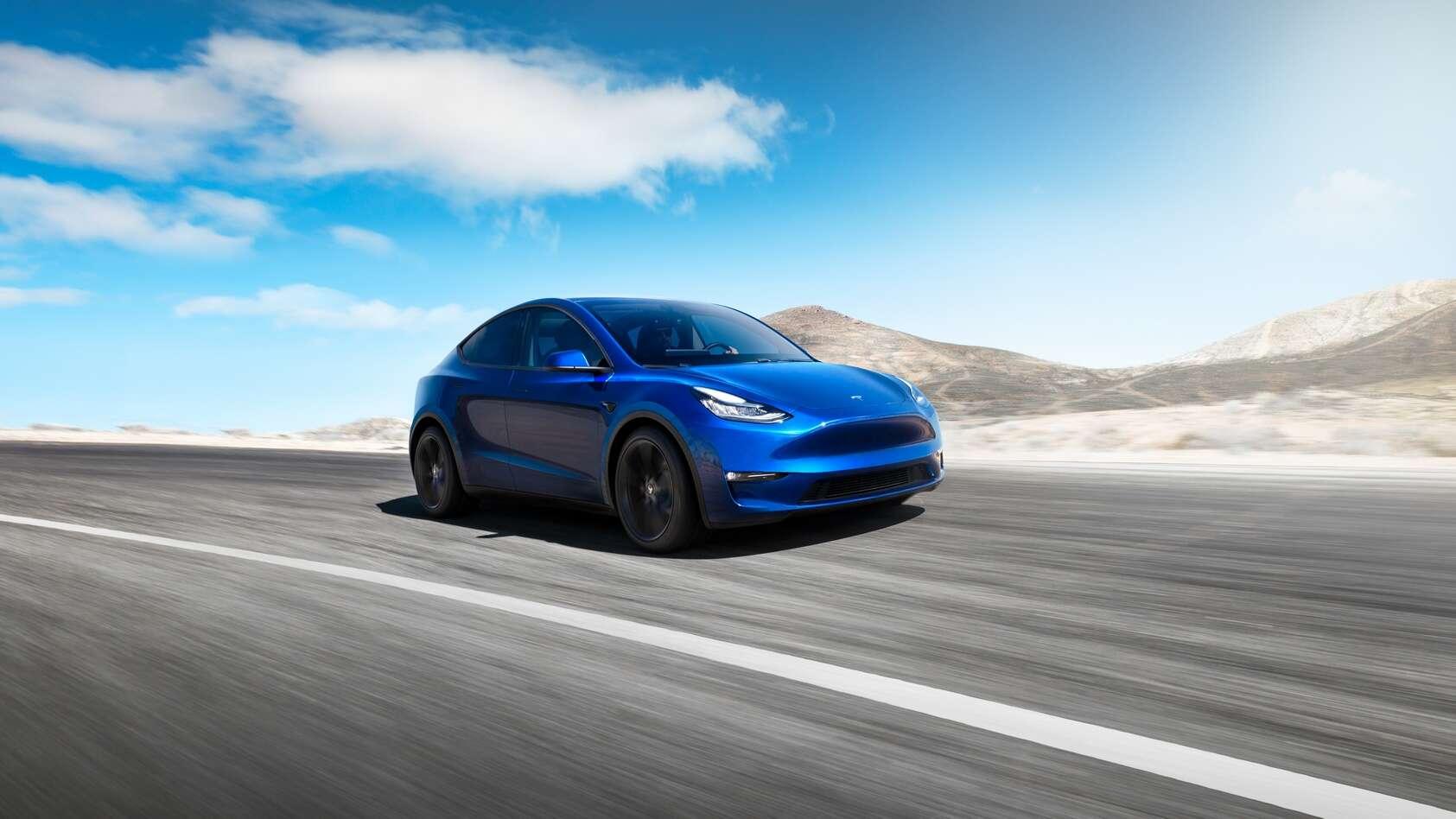 Le Tesla Model Y. © Tesla
