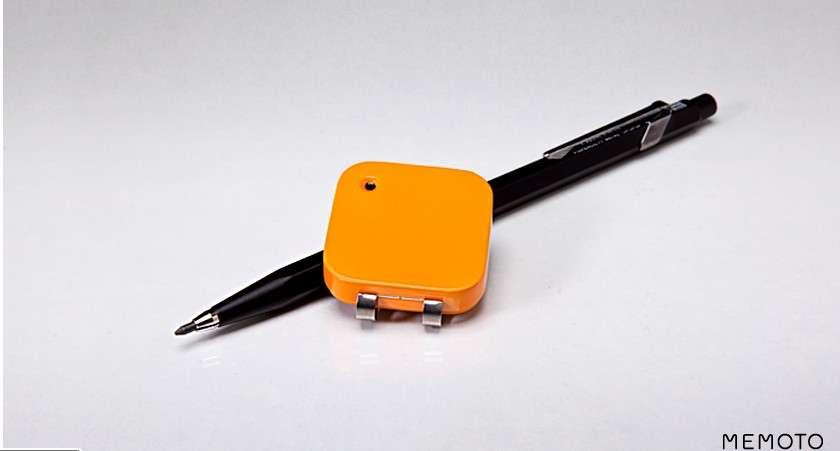 Memoto affirme qu'il a conçu le plus petit appareil photo numérique portable au monde : 36 x 36 mm pour 9 mm d'épaisseur. © Memoto/KickStarter