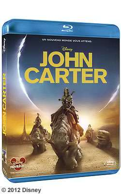 Le Blu-ray John Carter est sorti ! © Disney
