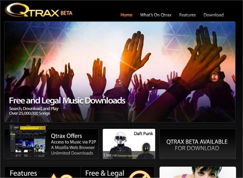 Qtrax, un service attractif mais encore en rôdage...
