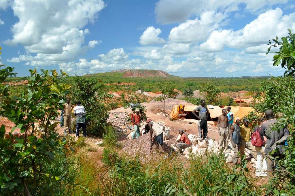 La moitié des réserves mondiales connues de cobalt (7 millions de tonnes) se concentre en République démocratique du Congo. © Fairphone, Flickr, CC by-nc-sa 2.0
