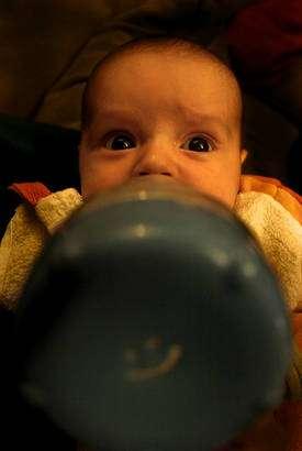L'influence de l'environnement, de l'alimentation, du contexte social, etc., sur le développement des enfants sera évaluée par l'étude Elfe. © FunKa-Lerele, Flickr, CC by-nc-sa 2.0