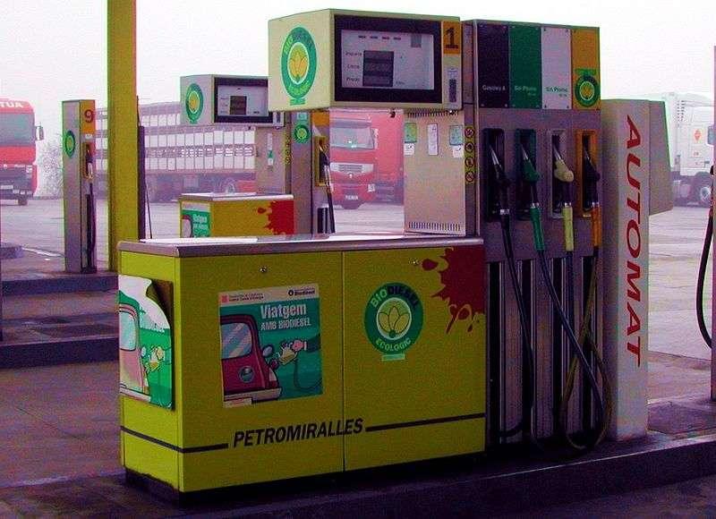 L'ester éthylique d'huile végétale est utilisé pour produire du biodiesel. © Chixoy, Wikimédia GFDL 1.2 & CC by-sa 3.0