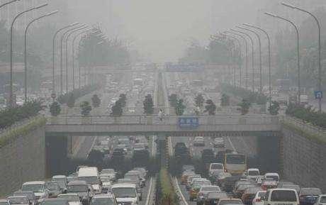 Air pollué à Pékin - Crédits DR.