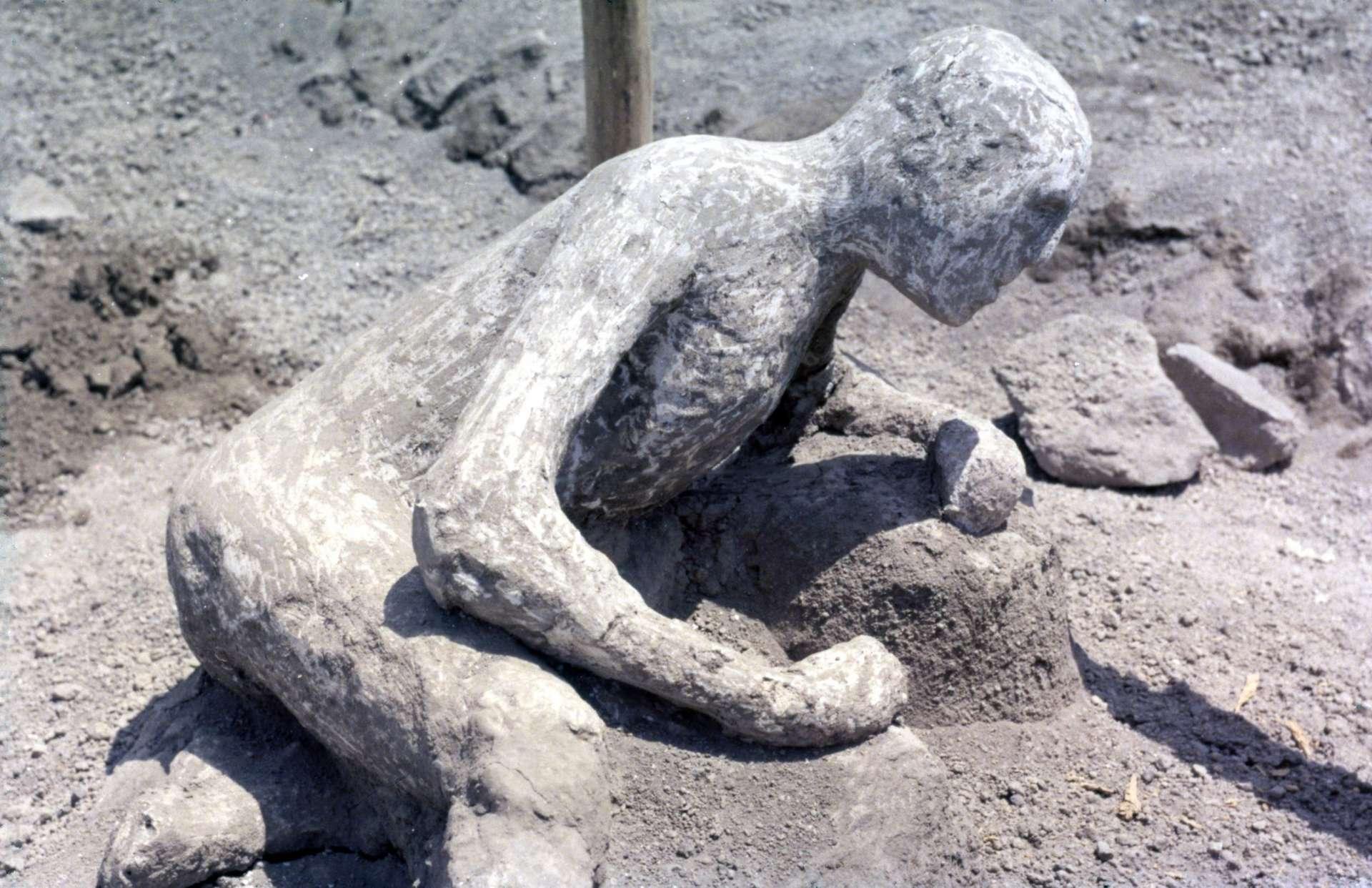 Vivant à moins de 10 km du cratère du Vésuve, les habitants de Pompéi sont morts asphyxiés en quelques minutes après l'explosion. © foundin_a_attic, Flickr