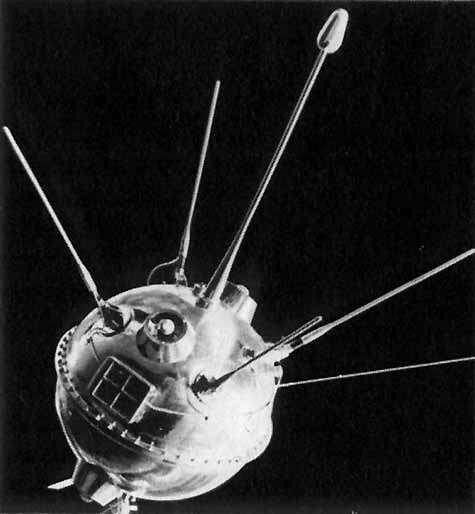 Lunik 1. Crédit Agence spatiale russe