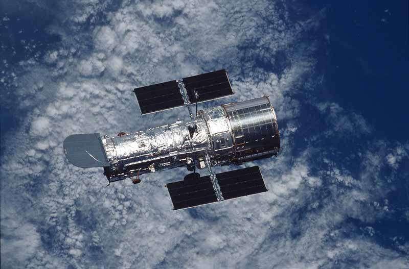 Une vue du télescope spatial Hubble. Il faudra attendre 2018 pour que son successeur parte dans l'espace, le James Webb Telescope. © Nasa