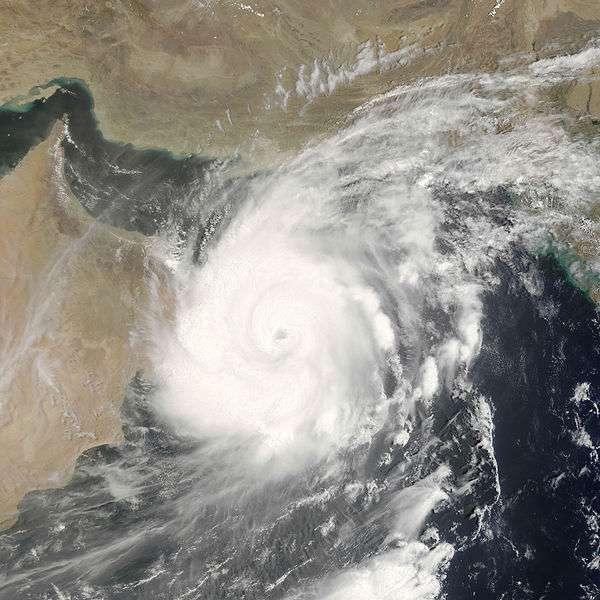 Le cisaillement vertical des vents affaiblit les cyclones. © Nasa