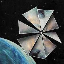 Cosmos 1, la première voile solaire.