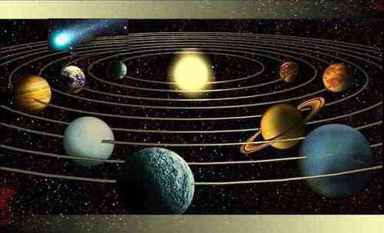 Le Système solaire. © ac-nancy-metz.fr