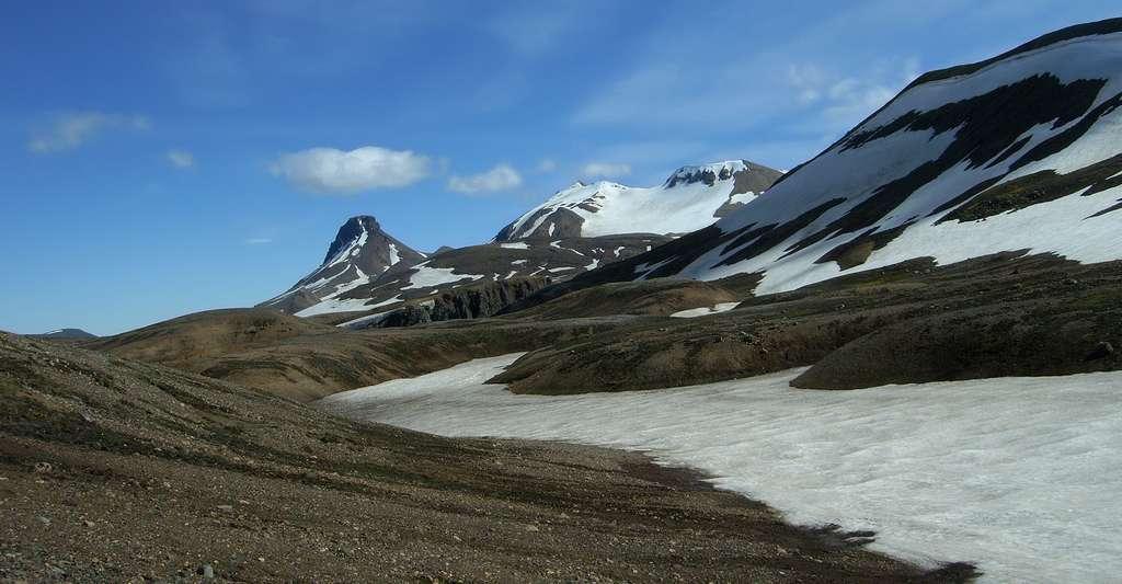 Les montagnes du Kerlingarfjöll. © Krator, CC by-sa 3.0