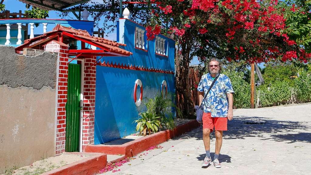 Les fleurs de la baie de Santiago de Cuba