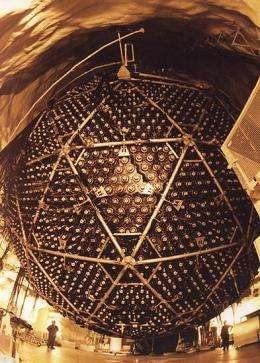 Le détecteur à neutrinos de Sudbury, au Canada (Crédits : Ernest Orlando/LBNL/SNO)