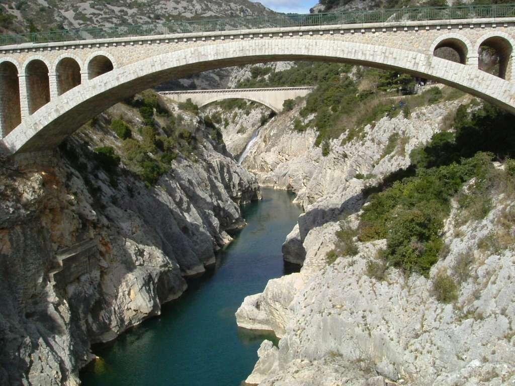 Le pont du Diable, à Saint-Jean-de-Fos, près de Saint-Guilhem-le-Désert. © Stefan Fink, DP