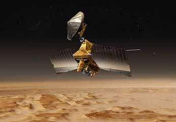 La sonde Mars Reconnaissance Orbiter (MRO)