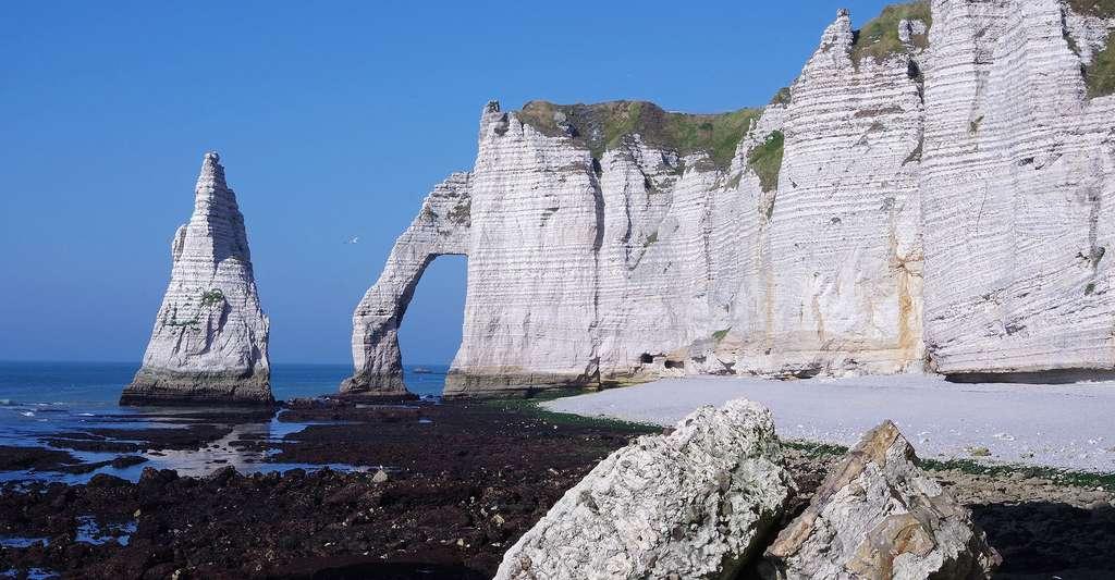 Les falaises de craie d'Étretat. © Claude Dopagne, Flickr, CC by-nc 2.0
